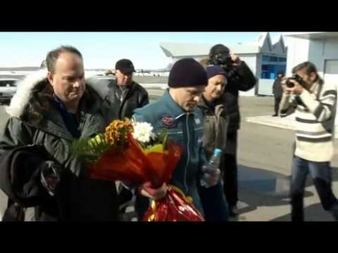 Space Station Crew Lands in Kazakhstan | Expedition 34 | ISS Soyuz NASA Video