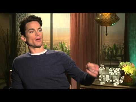 The Nice Guys: Matt Bomer Official Movie Interview