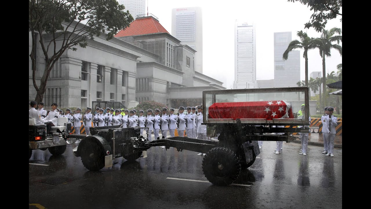 State Funeral For Lee Kuan Yew State Funeral of mr Lee Kuan