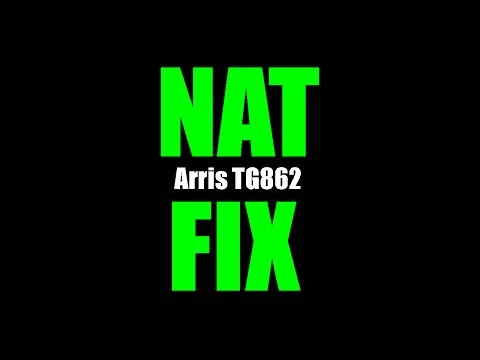 How to Fix Xbox One Strict NAT: Arris TG862