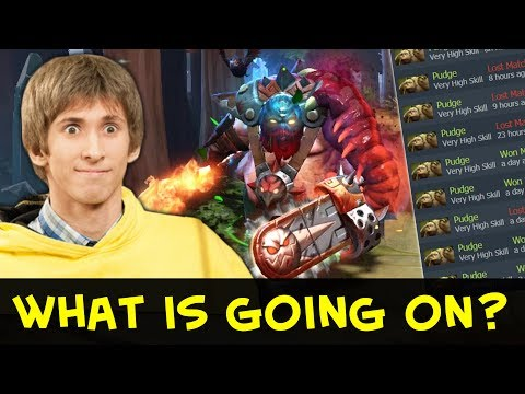Dendi hard practice 4th position Pudge — changes in NaVi?