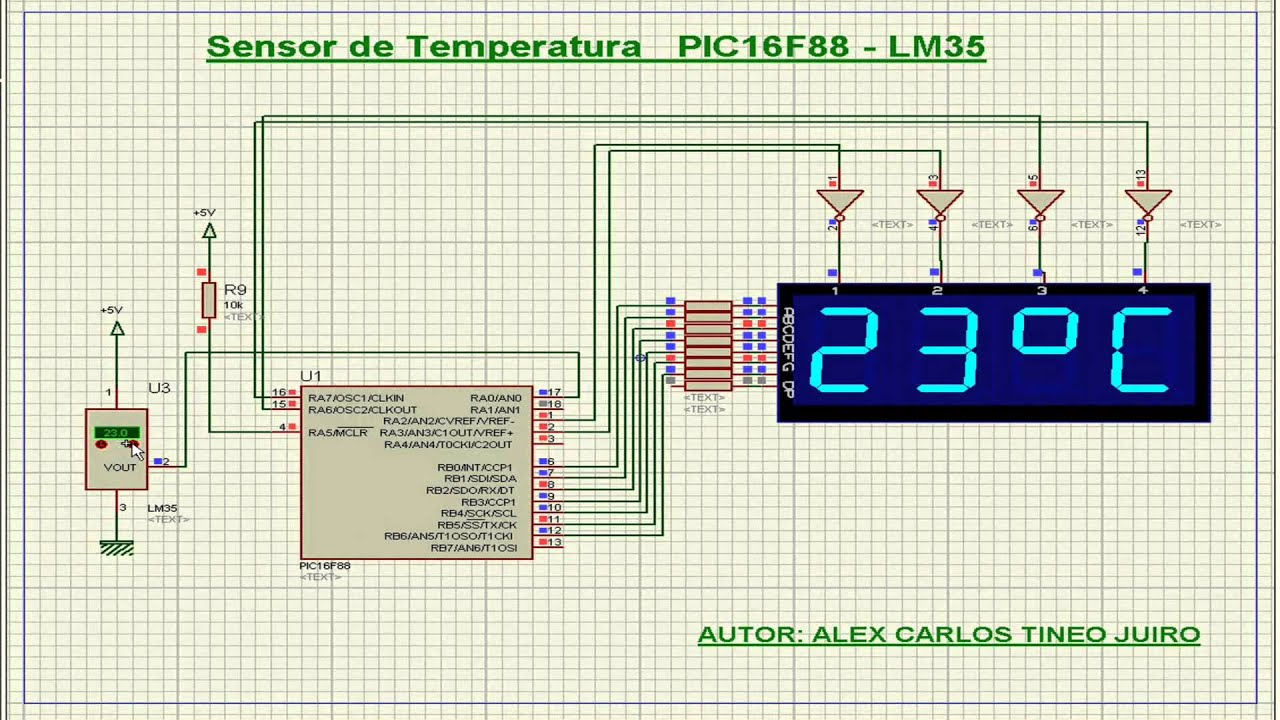 Простой цифровой термометр своими руками / Geektimes 96