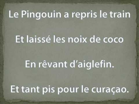 le pingouin du p le nord youtube. Black Bedroom Furniture Sets. Home Design Ideas