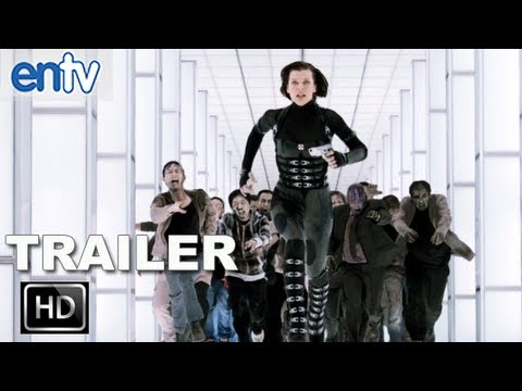 Resident Evil Retribution Official Trailer 2 [hd]: Milla Jovovich Vs Umbrella Corp video