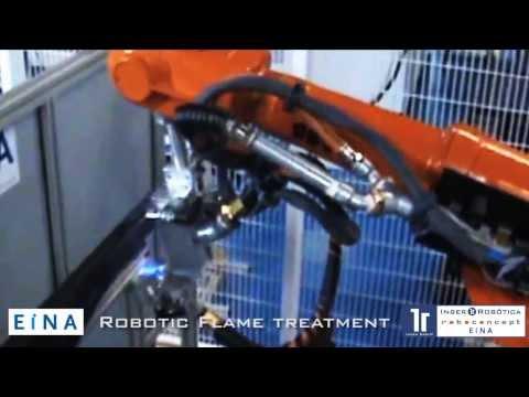 Solución robotizada para el tratamiento mediante Flameado.