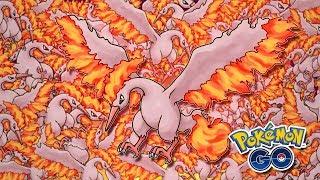 NUNCA VI TANTO SHINY! MARATONA MOLTRES! - Pokémon Go | Capturando Shiny (Parte 22)
