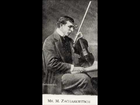 Zacharewitsch - Svendsen: Romance