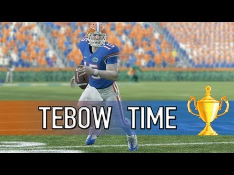 NCAA 14 Football Ultimate Team - TEBOW TIME! - Seasons Championship - Epic Finish!