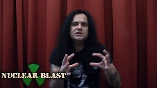 KREATOR -  Production Process  (Gods Of Violence trailer #2)