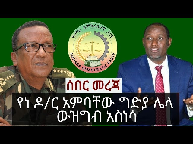 Update About Suspects Of June 15 Bahir Dar Incident