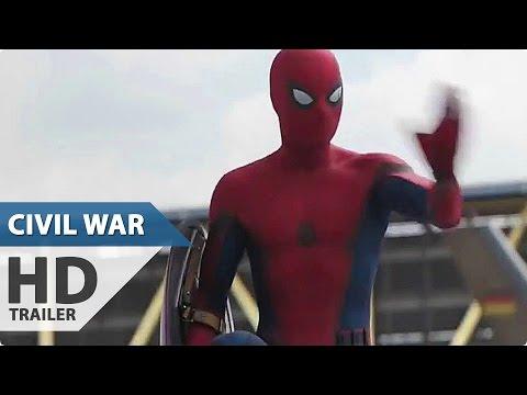 Captain America 3 Civil War NEW TV Spot - Spider-Man Arrives (2016) Marvel Superhero Movie HD