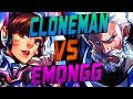 CLONEMAN16 PRO REIN VS EMONGG PRO D VA OVERWATCH SEASON 8 TOP 500 mp3