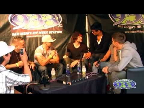Backstage interview with The Wanted at Channel 933's Summer Kick Off Concert 2013