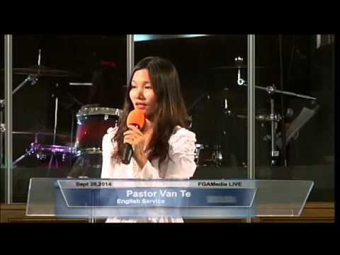 Pastor Van Te @ FGATulsa Sept 28,2014 English Service