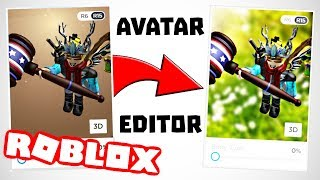 How to change the Roblox AVATAR EDITOR background (February 2019)