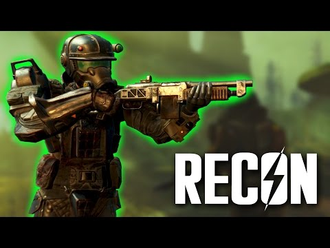 Fallout 4 - Recon Marine Armor Set - Unique Far Harbor Armor Set Guide