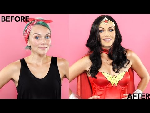 Wonder Woman Make Up Tutorial