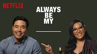Ali Wong & Randall Park Fill in the Blanks | Always Be My Maybe | Netflix