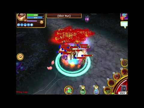 Arcane Legends [Warrior] - Testing Aegis in Planar Tombs 1