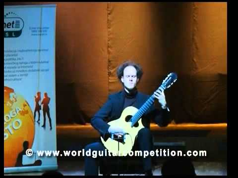 Bor Zuljan - Performance on the Great Finale of the World Guitar Competition Part 2