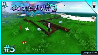 Pintando los cimientos :3 / Sobrevivir en Survivalcraft 2 2.0.2 Gameplay - Temporada 3 / #5