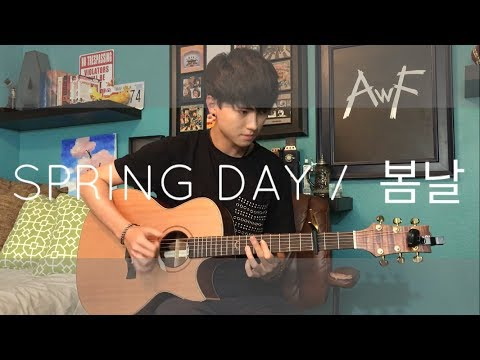 download lagu BTS `봄날 Spring Day - Cover Fingerstyle Guitar gratis