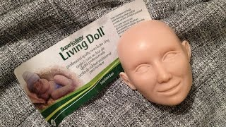How to make a doll head (Super Sculpey Living Doll)