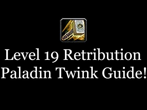 Level 19 warrior twink guide