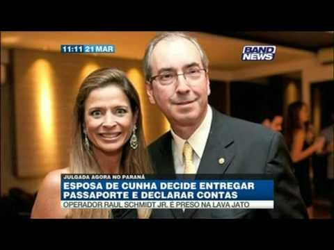 Esposa de Eduardo Cunha investigada, Cláudia Cruz foi Jornalista da Rede Globo