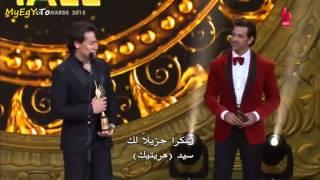 hrithik roshan and tiger shrof in iifa awards 2015