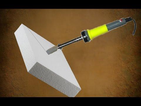 Как сделать РЕЗАК по пенопласту? Легко и просто!