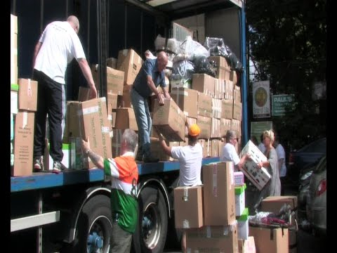 Huge community aid effort for Gaza