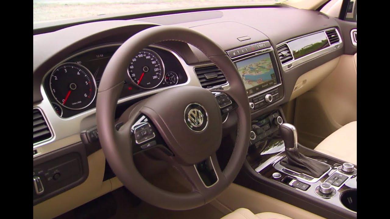 2016 Volkswagen Touareg INTERIOR New VW Touareg Driving ...