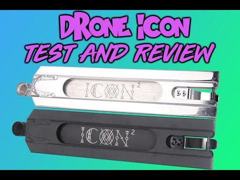DRONE ICON DECK TEST AND REVIEW!