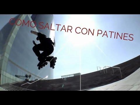 Patinaje en Línea tutorial: Aprende a Saltar con patines.