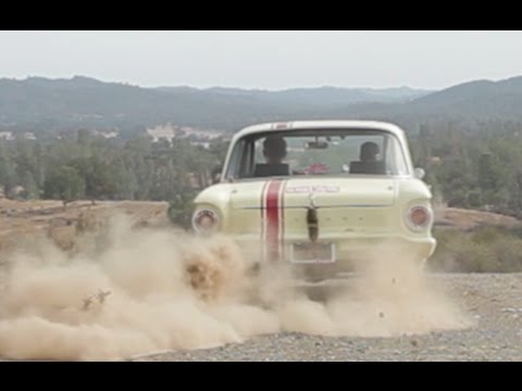 Big Muscle 1961 Ford Falcon Rally Car Youtube