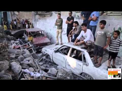 Gaza crisis: Death toll from Israeli strikes 'hits 100'