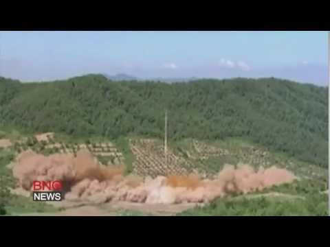 North Korea releases video of long-range missile test