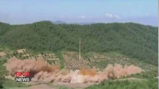 North Korea releases video of long-range missile test