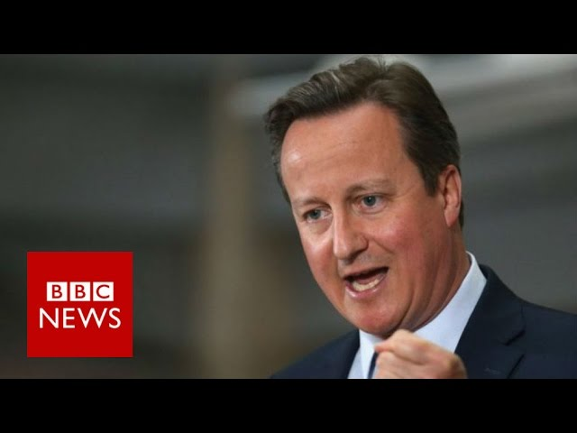 Cameron releases tax returns information - BBC News