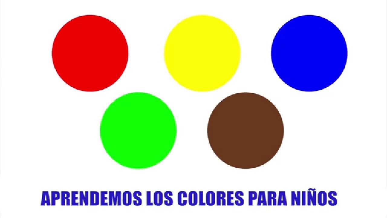 Los Colores en Espanol Para Ninos Aprende Los Colores Para ni os
