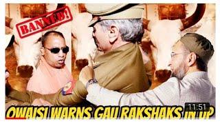 Asad Uddin Owaisi nay kaha gow Rakshak kay naam par terrorism kar rahay hai yai log