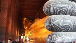 Lying Buddha and more at Wat Pho Temple Bangkok Thailand