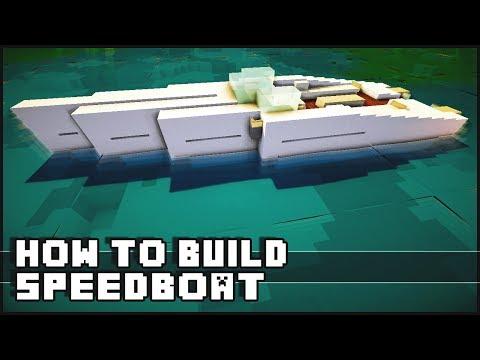 ► Minecraft : How to Make - Speedboat