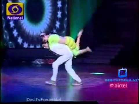 Deepak And Pankti Naino Me Sapna Bharat Ki Shaan Lets Dance. video