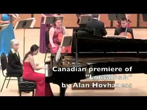 Alan Hovhannes: Lousadzak - Coming of Light