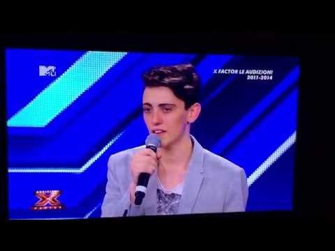 Audizione Michele Bravi X Factor 7- Father and Son