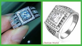 TOP 30 Mens Engagement Rings | Gold Ring Men Design | Mens Gold Jewelry Collection 2018
