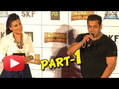 UNCUT Bajrangi Bhaijaan Trailer Launch | Salman Khan, Kareena Kapoor, Nawazuddin Siddiqui | Part 1