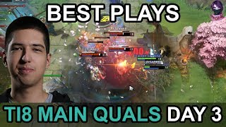 TI8 BEST PLAYS Main Quals CIS\SA\China DAY 3 Highlights Dota 2 by Time 2 Dota #dota2